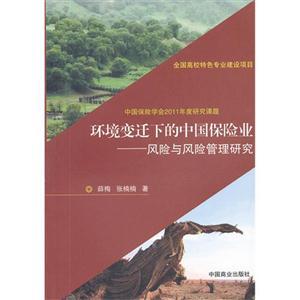 环境变迁下的中国保险业-风险与风险管理研究