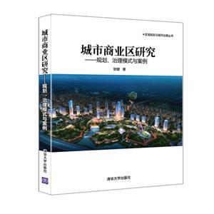 城市商业区研究-规划.治理模式与案例