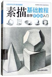 中国美院名师 教你画素描:素描基础教程(自学零基础入门)